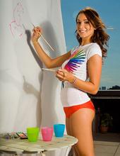Outdoor body paint 13