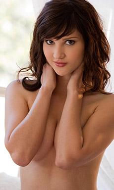 Beautiful brunette beauty Ellena