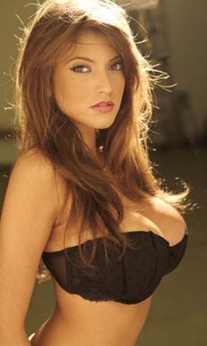 Busty Brit Mainstream Model Francoise Boufhal