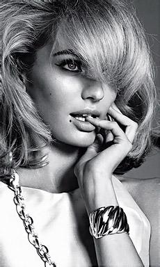 Blonde Babe Candice Swanepoel