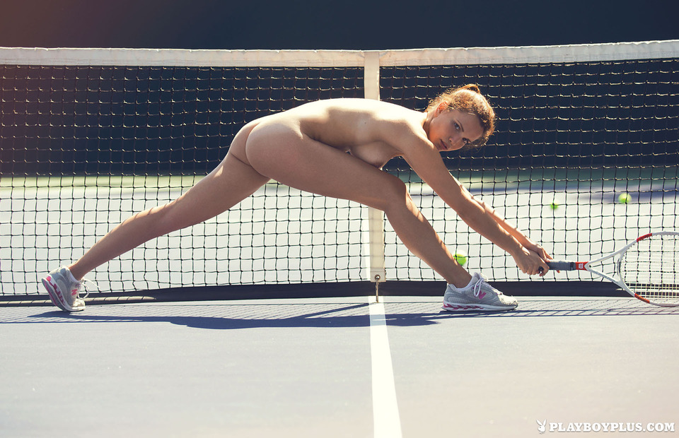 After tennis practice