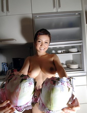 Lovely Japanese with big boobs 00